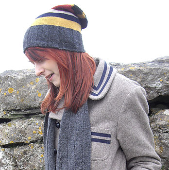 Knitted Slouch Beret