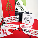 Big Fun Message Gift Tags