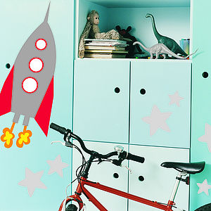 Rocket Wall Stickers - wall stickers