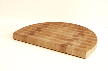 Halfmoon Handmade End Grain Chopping Board