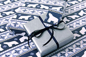 Polar Bear Wrapping Paper - cards & wrap