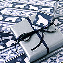 Polar Bear Wrapping Paper