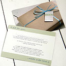 Milly And Pip Gift Notification Card