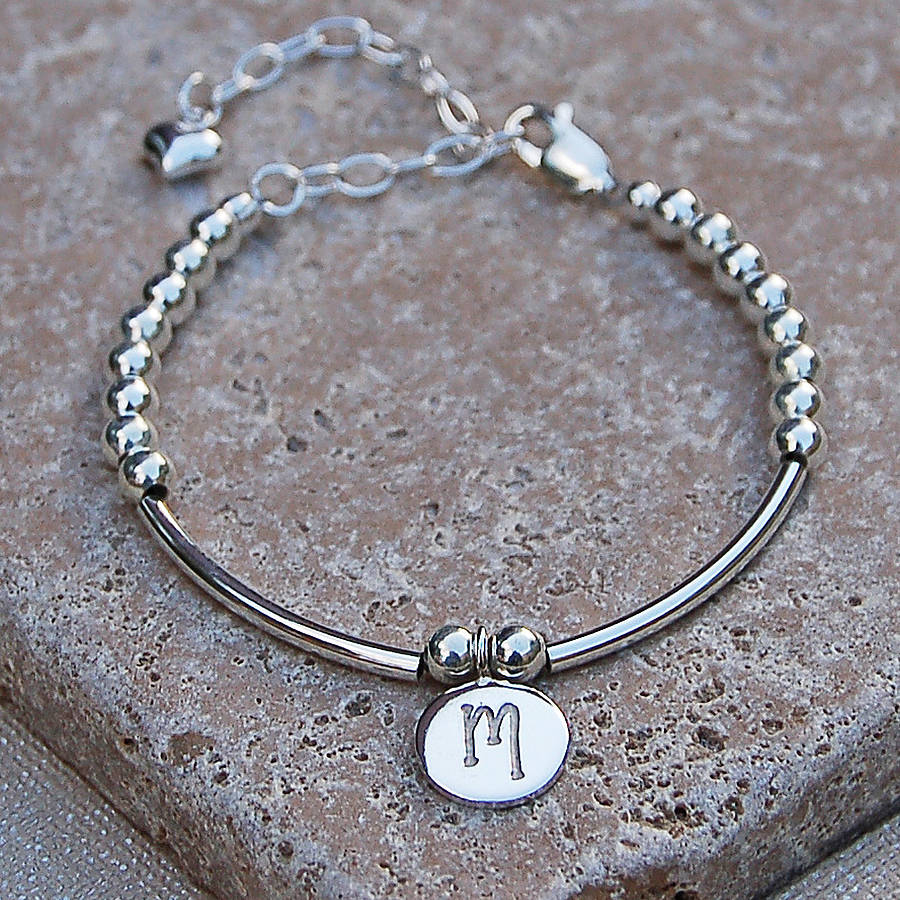product and indivijewels bracelets silver by girls bracelet pearl personalised original