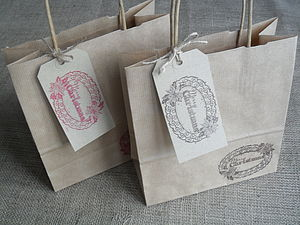 Merry Christmas Gift Bag And Tag - gift boxes