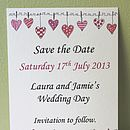 Mini Save The Date Cards