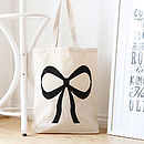 'Take A Bow' Tote Bag