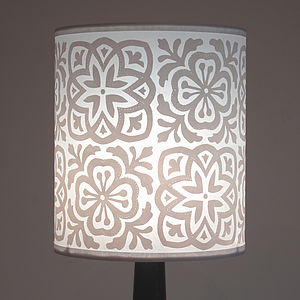 Moroccan Tile Classic Lampshade