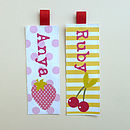 girls bookmark