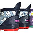 Childrens Cats Wellington Boots