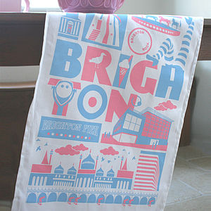 Brighton Tea Towel - kitchen
