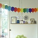 Paper Balloon Garland