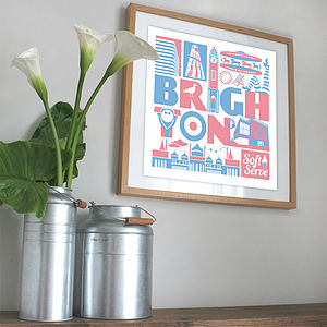 Brighton City Print - posters & prints