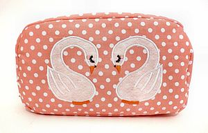 Little Swans Cosmetic Bag More Designs - women's accessories
