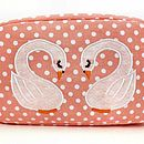 Little Swans Cosmetic Bag More Designs