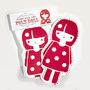 Make Your Own Folk Doll Kit