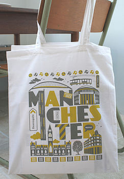 Manchester City Tote Bag