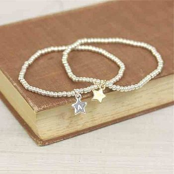 Personalised Sienna Star Bracelet