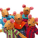 Handwoven Cotton Mice