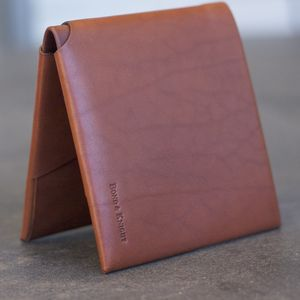 Personalised Leather Wallet: The Original - personalised