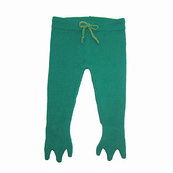 Knitted Frogs Legs Leggings