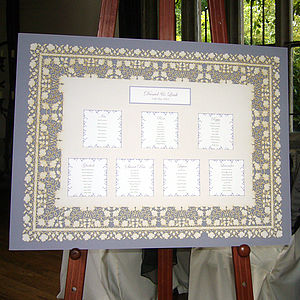 Laser Cut Lace Table Plan - table plans