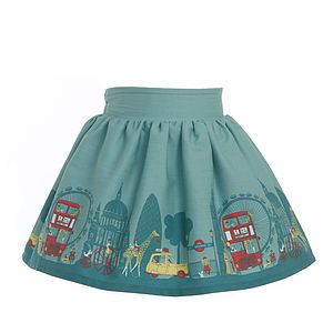 Jenny London Print Skirt - children's dresses