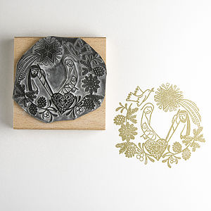 Nativity Garland Stamp - stamps & inkpads