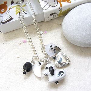 Cat And Dog Handmade Locket Charm Necklace - necklaces