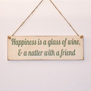 Friends Wine Vintage Sign Personalised - view all sale items
