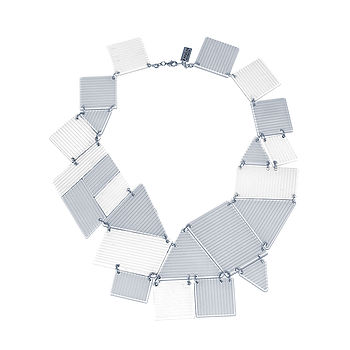 Acrylic Bib Statement Necklace