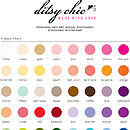 Ditsy Chic- Colour Chart