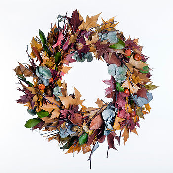 Preserved Leaf Wreath