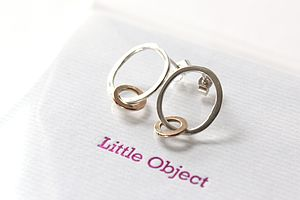 Little Hoop Earrings - earrings