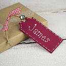 Personalised Christmas Tag