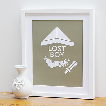 Wendy And The Lost Boys Fairytale Print