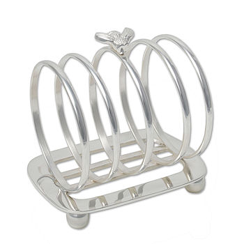 Culinary Concepts Silver Bee Toast Rack
