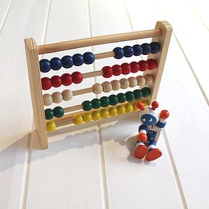 Wooden Abacus - traditional toys & games