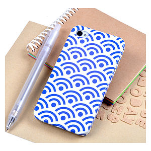 Japanese Paper Pattern Case For IPhone - bags & purses