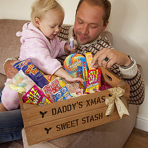 Personalised Medium Christmas Gift Crate