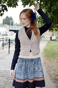 Iago Waistcoat Knitting Kit - tops & t-shirts
