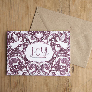 'Joy' Christmas Card - cards