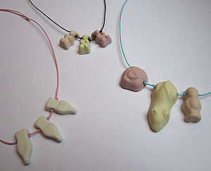 Porcelain Pick N' Mix Necklaces