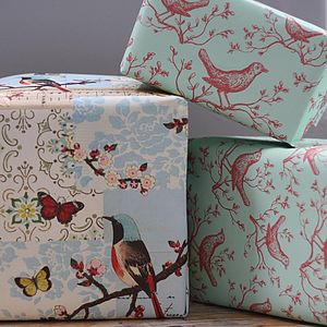 Decorative Wrapping Paper - ribbon & wrap