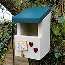 Personalised Robin Bird Box