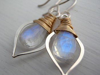 Electra Moonstone Earrings