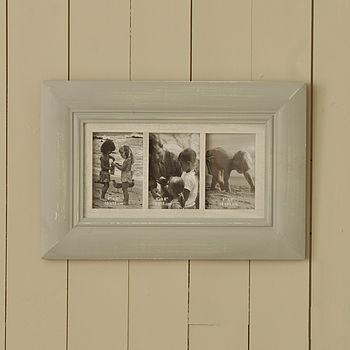 Triple Multi Photo Frame
