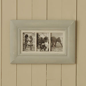 Triple Multi Photo Frame - picture frames