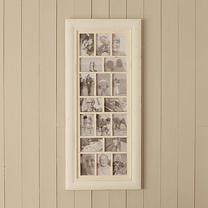 Mixed Multi Photo Frame - picture frames
