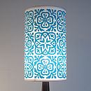 Moroccan Tile Tall Lampshade